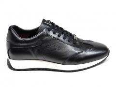 Ferazzi Low Sneakers Leather Black/White FZ13