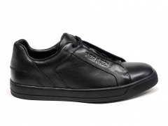 Ferazzi Low Sneakers Leather Core Black FZ09