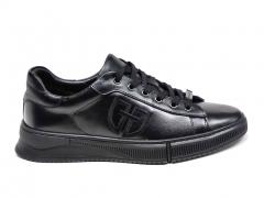 Ferazzi Low Sneakers Leather Black FZ12