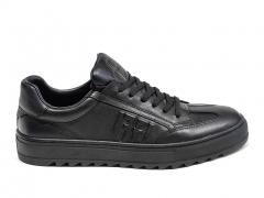 Ferazzi Low Sneakers Leather Black FZ11