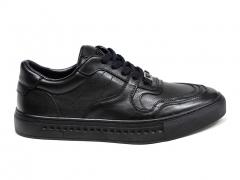 Ferazzi Sneakers Leather Black FZ05
