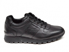 Ferazzi Sneakers Leather Black FZ04