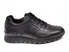 Ferazzi Sneakers Leather Black FZ04