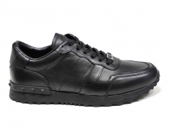 Ferazzi Sneakers Leather Black FZ03