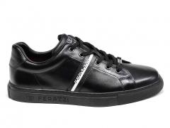 Ferazzi Low Sneakers Leather Black/White FZ08