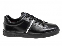 Ferazzi Low Sneakers Leather Black/White FZ08