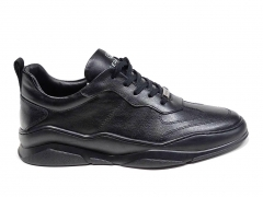 Ferazzi Low Sneakers Leather Black FZ10