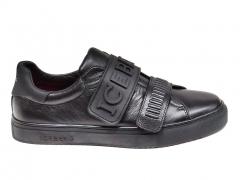 Iceberg Sneakers Logo Strap Black