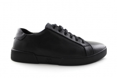 Louis Vuitton Low Sneaker Black Leather
