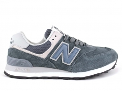 New Balance 574 Navy/Grey/Blue/Suede