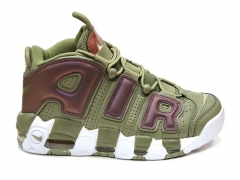 Nike Air More Uptempo Olive Green