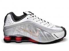 Nike Shox R4 Silver/White/Red