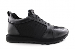 Philipp Plein Sneakers Black Leather