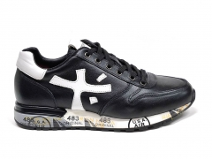 Premiata Sneakers Leather Black/White PM01