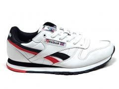 Reebok Classic Leather White/Black/Red RC20