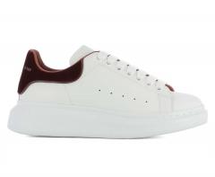 Alexander McQueen Sneaker White/Burgundy