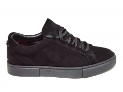 Tod's Sneakers Suede All Black TD01
