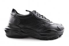 Valentino Garavani Bounce Black Leather VG02