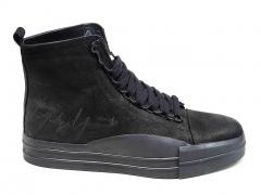 Y-3 Bashyo Black Leather AY20