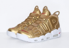 Nike Air More Uptempo Supreme Gold