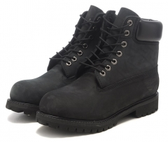 Timberland 6-inch All Black (с мехом)