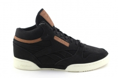 Reebok Classic Exertion Mid Matte Black/Brown