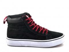 Vans Sk8-Hi Black/White/Red V19