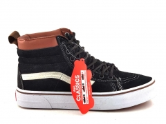 Vans Sk8-Hi Black/White/Brown V19