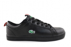 Lacoste Lerond Black Leather