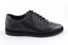 Gucci Sneaker Black Leather