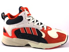 Adidas Yung 1 Blue/Red (с мехом)