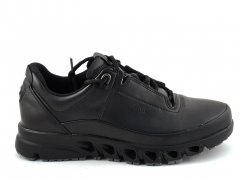 Ecco Multi-Vent All Black Leather E19