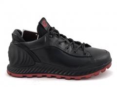 Ecco Biom Exostrike Leather Black/Red E19