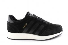 Adidas Iniki Runner Black Suede