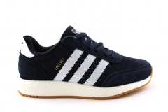 Adidas Iniki Runner Navy/White Suede