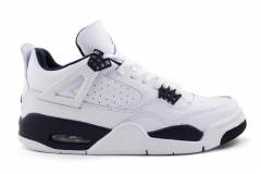 "Air Jordan 4 Retro ""Columbia"" White/Navy"
