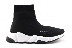 Balenciaga Speed Runner Sock Black/White