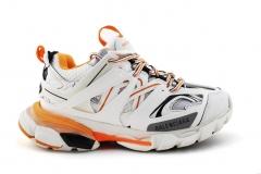 Balenciaga Track Trainers White/Orange