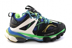 Balenciaga Track Trainers Black/Green