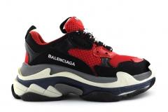 Balenciaga Triple S Red/Black