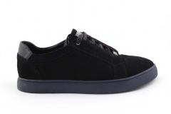 Billionaire Lo-Top Sneakers Black Suede blnr1