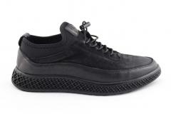 Gucci Sneaker Black Leather gcc4