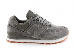 New Balance 574 Suede Grey/Khaki