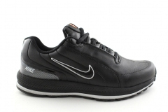 Nike Sneakers Black Leather