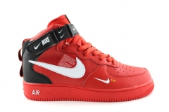 Nike Air Force 1 Mid '07 LV8 Utility Red/White