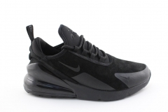 Nike Air Max 270 Black Suede