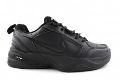 Nike Air Monarch Black Leather