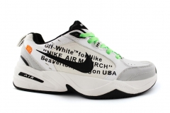 Nike Air Monarch x OFF-White Grey/White