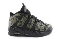 Nike Air More Uptempo Black/Camo