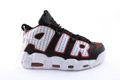 Nike Air More Uptempo Black/White/Red